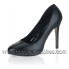 BLISS-30 Black Faux Leather